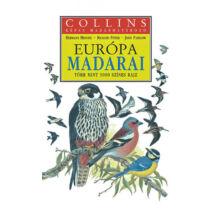 Európa madarai - Collins képes madárhatározó - Több mint 3000 színes rajz