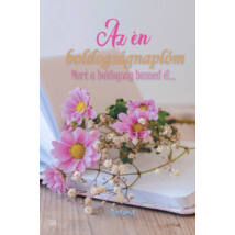 Az én boldogságnaplóm (virágos borító) - Mert a boldogság benned él...