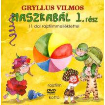 MASZKABÁL 1. RÉSZ (KÖNYV + DVD) - 11 dal rajzfilmmelléklettel