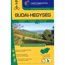 """BUDAI-HEGYSÉG TURISTAKALAUZ 1:25 000 """"SC"""" - településismertetőkkel"""