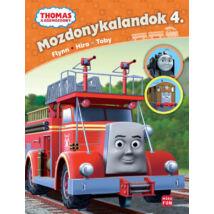 Thomas, a gőzmozdony - Mozdonykalandok 4. - Flynn, Hiro és Toby