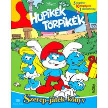 Hupikék Törpikék - Szerep - játék - könyv - 5 törpénet, 10 törpfigura, 1 játékszőnyeg
