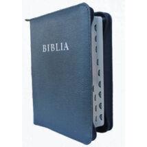 BIBLIA - Ezüst élmetszéssel, cipzáras bőrtokban - Revideált új fordítás (RÚF 2014)