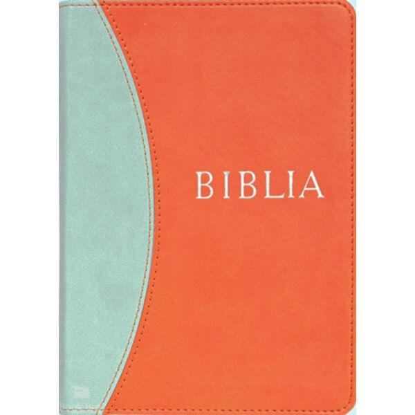 Biblia - Revideált új fordítású (RÚF 2014) - középméret, narancs