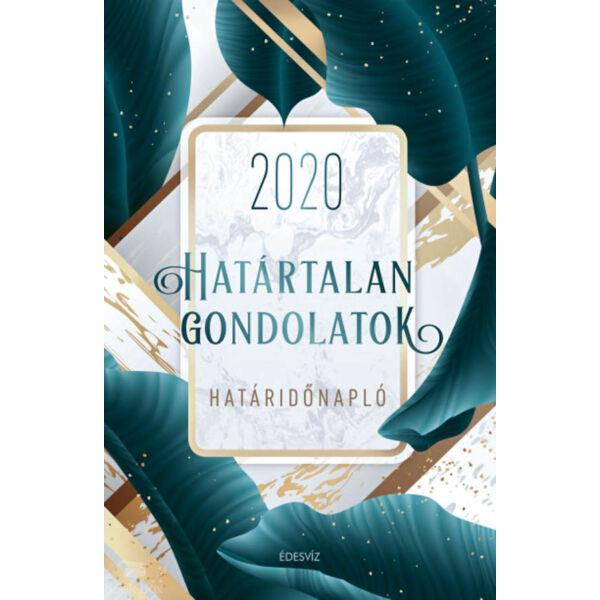 Határtalan gondolatok határidőnapló  - 2020