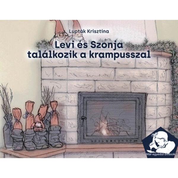 Levi és Szonja találkozik a krampusszal - Már egyedül olvasok