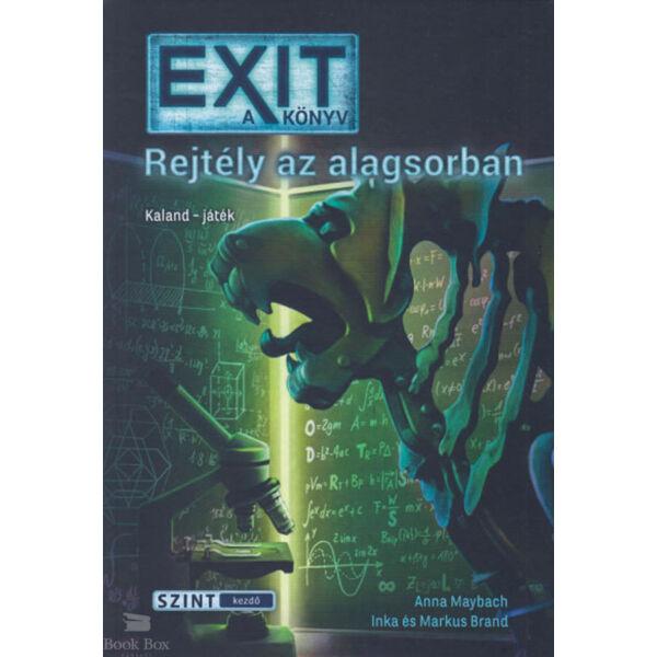 EXIT - a könyv  - Rejtély az alagsorban