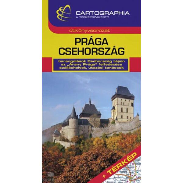 Prága, Csehország útikönyv - TÉRKÉP