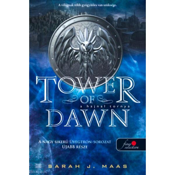 A hajnal tornya (Üvegtrón 6.)  - puha kötés