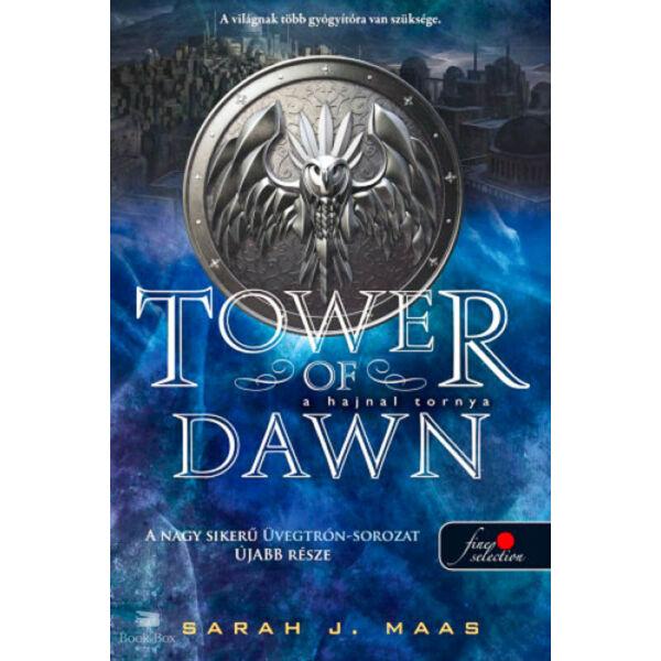 A hajnal tornya (Üvegtrón 6.)  - kemény kötés