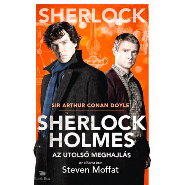 Sherlock Holmes: Az utolsó meghajlás  - BBC filmes borító